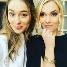 Alycia Debnam-Carey & Eliza Taylor