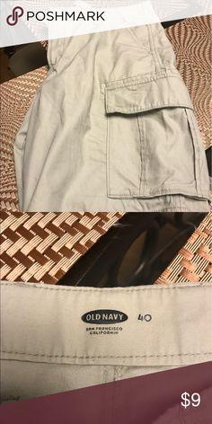 Men's Shorts Men's cargo shorts, very good shape. Old Navy Shorts Cargo