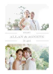 Nygift i billeder