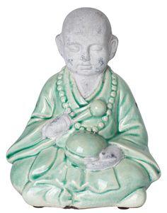 CEM/GLAZE BUDDHA dekorasjon | Statues | Statuer | Dekorasjoner | Home | INDISKA Shop Online