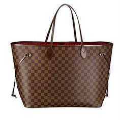 To carry the kitchen sink and then some.  Louis Vuitton Neverfull MM in Damier Ebene. I'm in LOVE with it.