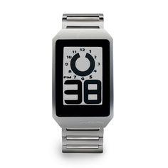 Phosphor e-ink watch