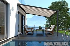 A Pergola awning adapts perfectly to any terrace or balcony situation. So you can relax in a pleasant and shady atmosphere at your favorite place and enjoy the hot days in the garden. Discover the ERHARDT product range online. Hot Days, Relax, Shades, Outdoor Decor, Design, Home Decor, Bbq, Range, Solar Shades