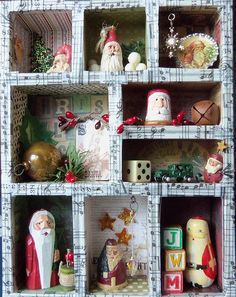 CHRISTMAS Shadowbox