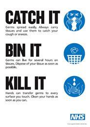 Catch it bin it kill it poster