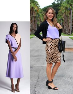 Today's Everyday Fashion: Lavender & Leopard