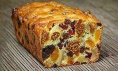 Αυτό το κέικ έχει περισσότερα αποξηραμένα φρούτα, από ζύμη. Το αποτέλεσμα είναι απίστευτα γευστικό, χορταστικό, και ωφέλιμο. Και το πιο σημαντικό, φτιάχνεται γρήγορα και εύκολα. Μοιραζόμαστε μαζί σας αυτή τη πρωτότυπη συνταγή, που μπορείτε να φάτε για πρωινό ή ως σνακ μαζί με καφέ. Υλικά: 300-400 γρ. διάφοροι ξηροί