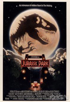 Unused Jurassic Park Poster by legendary cinematic artist John Alvin