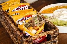 Walking Tacos Recipe -- These little tacos in a bag are equally perfect for game day get togethers or busy school nights, even camping… So simple and easy to make! taco in a bag how to make walking tacos frito chili pie walking taco bar walking I Love Food, Good Food, Yummy Food, Tasty, Camping Meals, Kids Meals, Backpacking Recipes, Camping Cooking, Camping Dishes