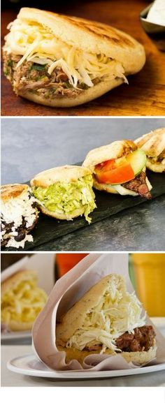 """How to make Arepas, the pride of the """"FastFood"""" Latin American food. Colombian Dishes, Colombian Food, Colombian Arepas, Colombian Recipes, Mexican Dishes, Mexican Food Recipes, Ethnic Recipes, Hispanic Dishes, Venezuelan Food"""