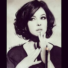 Bellissimo ritratto Monica #art  by @ruslan_mustapaev_  grazie mile  #MonicaBellucci  by monicabelluccicollection