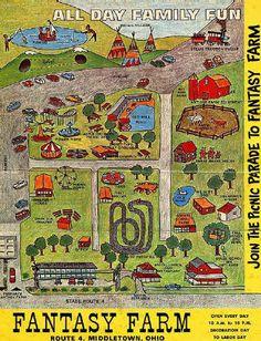 The Defunct Fantasy Farm Amusement Park Website Memorial