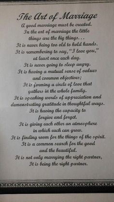 Quotes About Wedding : Paul Newman used this in his wedding vows I love it! The art of marriage #quotesonwedding