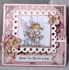 Lena Katrine`s Scrappeskreppe: DT Lili of the Valley - Challenge #124: Pink, White & Silver