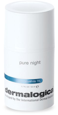 Dermalogica Pure Night (Overnight treatment for hyperpigmented skin and uneven skin tone) $75