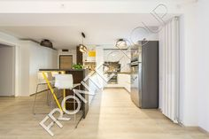 #Furniture #MadeToMeasure #ModernKitchen #InteriorDesign #FronteDesign Walnut Kitchen, Interior Design, Table, Furniture, Home Decor, Nest Design, Hickory Kitchen, Decoration Home, Home Interior Design