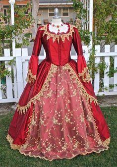 Varsailles Antoinette Custom Fantasy Gown