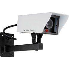 Caméra factice caméra factice métal avec led clignotante, SMARTWARES Cs11dfr