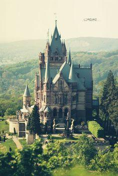 Palacio de Drachenburg, Alemania.