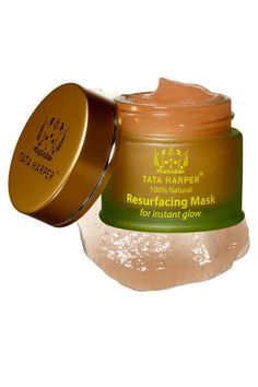 """Our Resurfacing Mask has won ELLE's Green Stars 2013 awards, for the Best Eco-Friendly Beauty Products out there. """"ELLE beauty editors and the eco experts agree: Nothing beats Tata Harper Resurfacing Mask for a fresh, clear complexion.""""   Share this exciting news with a Repin!"""