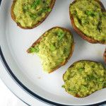 Healthy Baked Potato Skins | Naive Cook Cooks