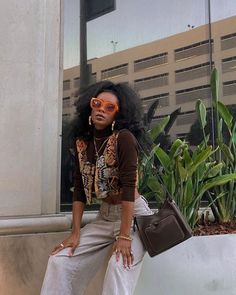 Mode Outfits, Girl Outfits, Fashion Outfits, Look 80s, Looks Black, Black Girl Aesthetic, 2000s Fashion, Black Girl Fashion, Fashion Moda