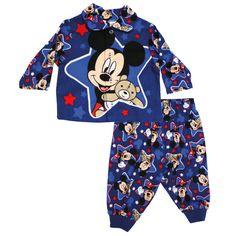 Infant Boys Mickey Mouse Flannelette Kids Pyjamas PJs $19 @ www.swingsandladders.com.au