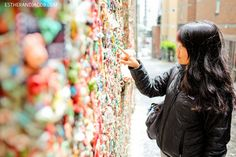 gum wall seattle washington. what to do in seattle. seattle things to do. fun things to do in seattle. best things to do in seattle.