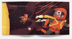 PICTURE BOOK SET IN SPACE!