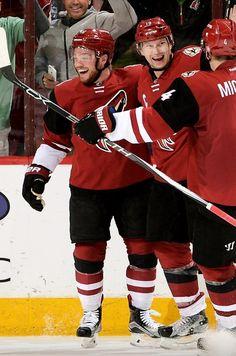 Maxi Domi, Shane Doan and Zbynek Michalek Shane Doan, Coyotes Hockey, Max Domi, Hockey Boards, Arizona Coyotes, Nhl Players, Of Montreal, Montreal Canadiens, Pittsburgh Penguins