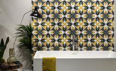 DIZAJNOVÁ KÚPEĽŇA - Výnimočné talianske obklady / BENEVA Vintage Tile, Tiles, Curtains, Fun, Furniture, Wall Tiles, Insulated Curtains, Blinds, Home Furnishings
