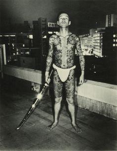 """Yakuza from """"Street photo random Tokyo, 1975-79"""" photobook by Seiji Kurata"""