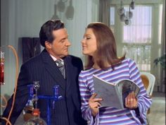 Emma Peel and John Steed - The Avengers