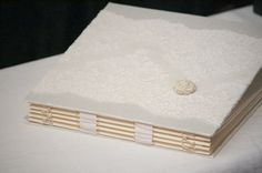 Wedding Antique Lace Photo Album Scrapbook Custom by ArtbyChapin, $225.00    Possible to make this on my own?