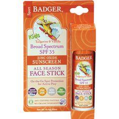 SPF 35 Kids Sport Sunscreen Stick