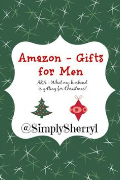 Amazon Gifts for Men
