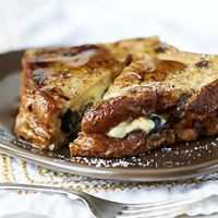 Copycat Blueberry Stuffed French Toast from Panera Recipe | Recipe4Living