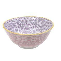 Cette série de bols japonais est magnifique! Il faudra malheureusement attendre 2035 pour pouvoir les palper sur photo! La porcelaine est épaisse, un léger relief suit les motifs. Ces bols sont robustes et originaux dans leur design. De beaux objets du plus bel effet sur une étagère de cuisine. 9,00 € http://www.lafolleadresse.com/japonaise-etoiles/722-bol-15-cm-intérieur-mauve-extérieur-vagues-rose-pâle.html