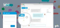 WordPress Woocomerce: YITH WooCommerce Live Chat Premium 1.2.1 Extension...