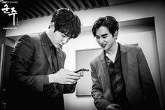 Yoo Seung Ho | 유승호 | D.O.B 17/8/1993 (Leo) x L| 엘 | Kim Myung Soo | 김명수 | INFINITE Band | D.O.B 13/3/1992 (Pisces)