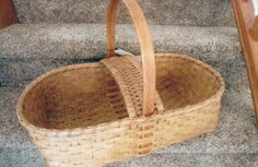 Judi Raddant - Blessing Basket.  Put cloth over to protect food for potlucks.
