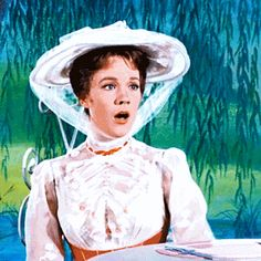 The Sound of Mary Poppins Julie Andrews Mary Poppins, Mary Poppins 1964, David Tomlinson, Christopher Plummer, Old Disney, Disney Stars, Disney Films, Sound Of Music, Disney Pictures
