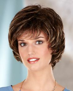 Wigs, Hair Pieces for Sale - Shop Canadian Medium Hair Styles For Women, Medium Hair Cuts, Short Hair Cuts, Long Hair Styles, Short Grey Hair, Short Hair With Layers, Bob Hairstyles, Braided Hairstyles, Shot Hair Styles