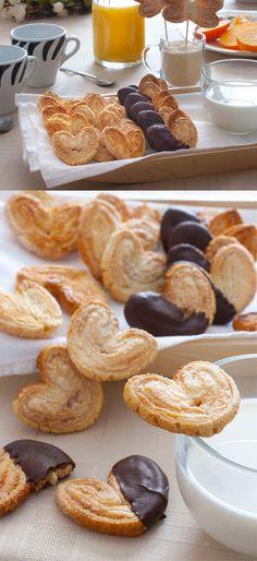 Palmeritas de chocolate / http://espiaenlacocina.com/