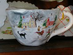 Home for Christmas by Julie Whitmore Pottery, via Flickr