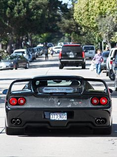 Ferrari F50 I luv the plexiglass rear section so the guy you just left sitting at the red light can see what just ruined his day!!!