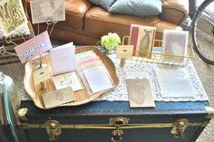 Craft Show Booth - trunk table!!!!