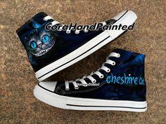 Custom Cat Converse Custom Shoes Custom Hand by CoraHandPainted, $87.99