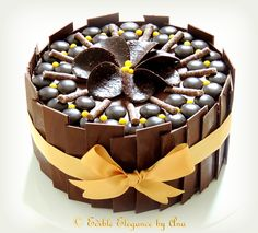 Super Enticing and Amazingly Designed Chocolate Cakes 25