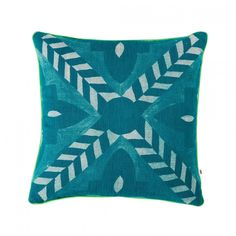 C1001-Deco-Flower-Tile-Teal-40cm-1000x1000